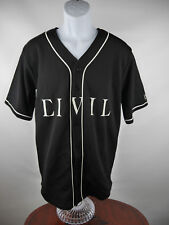 Civil Regime Baseball Jersey Shirt Lindsay Lohan 86 Black Small S B7