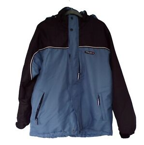 Tog 24 Men's Boardwear Jacket Hooded Waterproof Size L Blue
