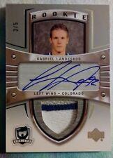 11-12 Gabriel Landeskog The Cup Rookie Crosby Tribute 3 Color Patch Auto 3/5!
