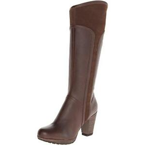 TIMBERLAND EK Earthkeepers Exeter Heights Tall Brown Leather Knee High Boots 5.5