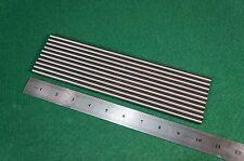 """7mm Dia Titanium 6al-4v round bar .275"""" x 10"""" Ti Grade 5 rod Solid Metal 10pcs"""