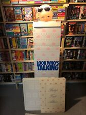 Look Who's Talking  Video Movie Store Standee In Original Box HTF