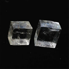 1pc Natural Calcite Clear Crystal Ore Mineral Specimens Stone Optical Research