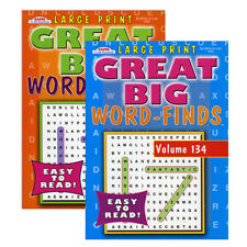 Large Print Great Big Word-finds Vol 97 Kappa Word Search 80 Puzzles