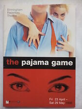 THE PAJAMA GAME.BIRMINGHAM.REPERTORY PROGRAMME TICKETS 27-5-99.A DOBSON.G ABBOTT