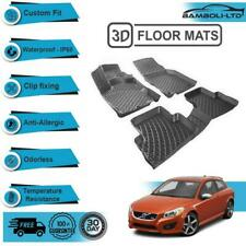 3D Molded Interior Car Floor Mat for Volvo C30 2006-2013(Black)