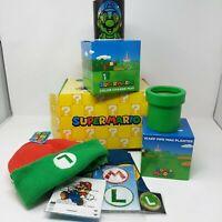 New Nintendo Super Mario Collector's Box Luigi Toad Goomba Culture Fly