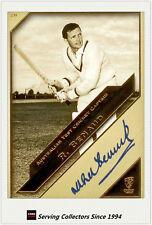 2011 Heritage Test Cricket Captains Blue Facsimile Signature #28: Richard Benaud