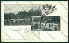 Varese Valcuvia Brenta Cittiglio Militari cartolina QQ6778
