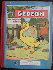 BENJAMIN RABIER, GEDEON .SUIVI DE ROUDOUDOU SUIVI DE ALFRED EN LBERTE, 1930