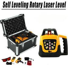 Ridgeyard Red Beam Self Leveling Horizontal Vertical Laser Level Tool