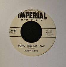 HEAR MP3 ROCKABILLY Ronny Smith Imperial DJ 5667 Long Time No Love VG+