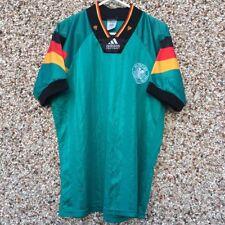 "1992 1994 Germany away Football Shirt Small Adult vintage classic 34-36"" Adidas"