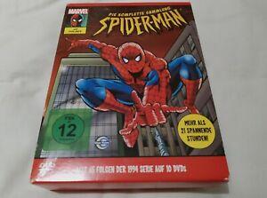 Spiderman 1995 Complete Season 1-5 Boxset Region 2 DVD Animated Series