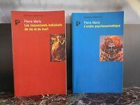Pierre MARTY mouvements vie mort psychosomatique ARTBOOK by PN
