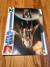 LEGO Star Wars Set #7752 Clone Wars Count Dooku's Solar Sail Instruction Manual