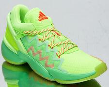 adidas x Marvel D.O.N. Issue 2 Spida Sense Men's Glow Mint Basketball Sneakers