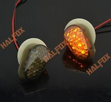 Black Flush Mount LED Turn Signal for Yamaha XJ6 MT-03 FZ8 FAZER MT07 MT09