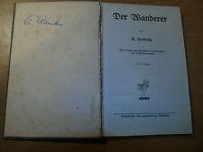Anitkes Buch von U. Fendrich 'Der Wanderer' 1912, 541
