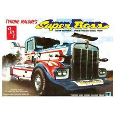 AMT 1/25 Tyrone Malone Kenworth Super jefe Arrastre Carro # 930