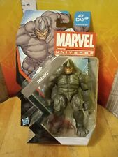 "MARVEL UNIVERSE WAVE 22 RHINO 3.75"" ACTION FIGURE #003 SERIES 5 2013 SPIDER-MAN"