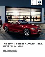 2013 BMW 128i 135i 135is Convertible 64-page Sales Brochure Catalog - 1-Series