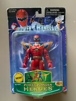 Power Ranger Heroes DINO THUNDER RED Series 16 Action Figure NEW IN BOX