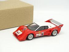 Kit Monté Résine 1/43 - Ferrari 512 BB Turbo Chateau Le Mans 1977 -non qualifiée