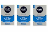 (65,97€/L) 3x 100ml Nivea MEN Sensitive Cool After Shave Balsam 0% Alkohol