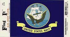 U.S. Navy Flag - Vinyl Decal Sticker 3.5''x 5''