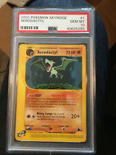 Aerodactyl Skyridge Gem Mint 10 PSA 1/144 Pokemon