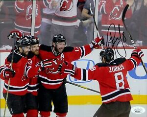 Dainius Zubrus New Jersey Devils Signed 8x10 Matte Photo JSA Authenticated