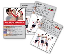 Variosling® - Sling Trainer Trainingskarten mit 54 Übungen - Schlingentraining