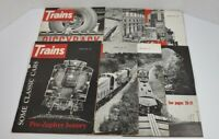 Trains The Magazine Of Railroading Lot Of 9 1960