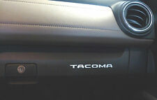 2016-2017 Toyota Tacoma Color-Matched Glove Box Vinyl Decal Inserts-2 sets