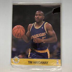 Tim Hardaway Golden State Warriors NBA 1990 NBA Hoops UNOPENED Action Photo