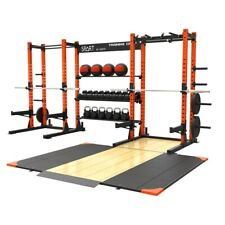 Spart Double Squat Rack / Power Rack / Storage Area