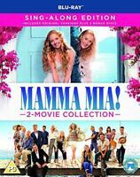Mamma Mia! 2-Movie Collection (Blu-ray) [2018] [Region Free] [DVD][Region 2]