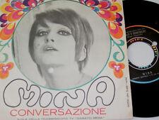 """7"""" - Mina - Conversazione & Sabati e domeniche - 1967 Italy # 5312"""