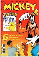 LE JOURNAL DE MICKEY n°2498 ¤ 2000 ¤ POKEMON