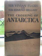 Ferguson Tractor in Hillary's Antarctica book 1958 *Fergi pics* massey