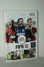 FIFA 12 GIOCO USATO OTTIMO STATO NINTENDO Wii EDIZIONE ITALIANA PAL ML3 53136