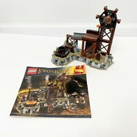LEGO Lord of the Rings The Orc Forge 9476 Mini Figure 90% Complete Manual