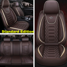 Standard Car Front&Rear Seat Cover PU Leather Universal Seat Cushion Protector