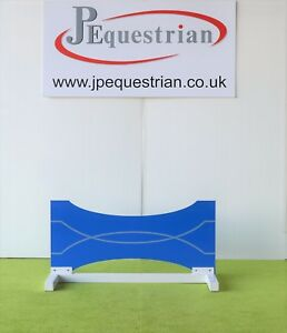 Blue and Silver Bow Tie Show jump Filler-For Showjumping