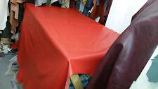 Italian Full Leather Hide Colour Red Super Bright, 2050 Super Soft
