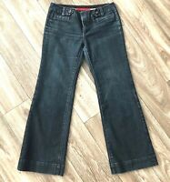 Banana Republic Womens Size 4P Low Rise Dark Wash Limited Edition Trouser Jeans