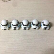 "Lot 5Pcs Helmet for playskool Star War Galactic Heroes 2.5"" figure accessorytoy"