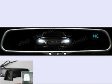Auto dimming rear view mirror+compass+temp,fits Toyota,Ford,GM,Nissan,Chevy,etc