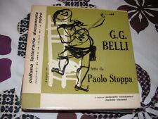 """PAOLO STOPPA  G.C.BELLI """"SUI SELCI DI ROMA""""   L.LUZZATI E.P. ITALY'57"""